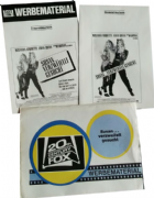 DESPERATELY SEEKING SUSAN - PROMO CINEMA CAMPAIGN BOOKS